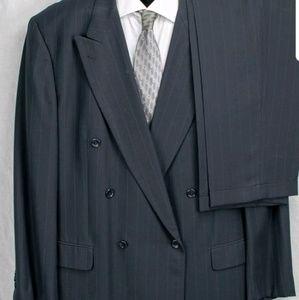 Blue Pin stripe suit-48
